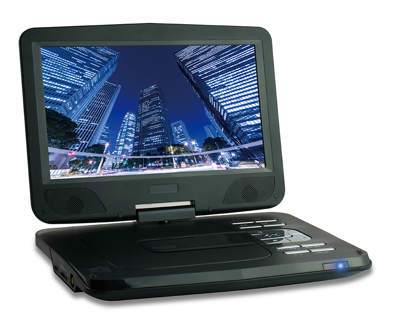 10.1型 フルセグ対応ポータブル DVDプレーヤー