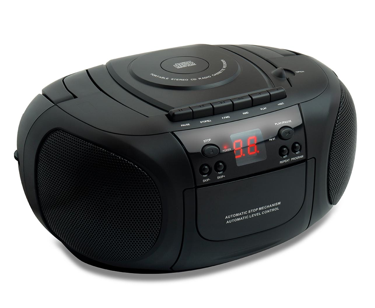 TEES CDラジオカセットプレイヤー